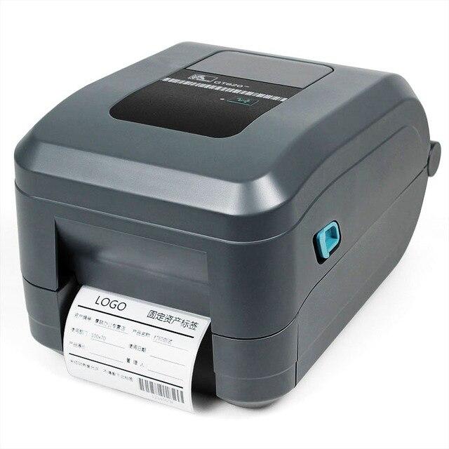 Zebar GT820 штрих-кода и этикетки наклейка принтер поддерживает печать ювелирные изделия и Одежда тег