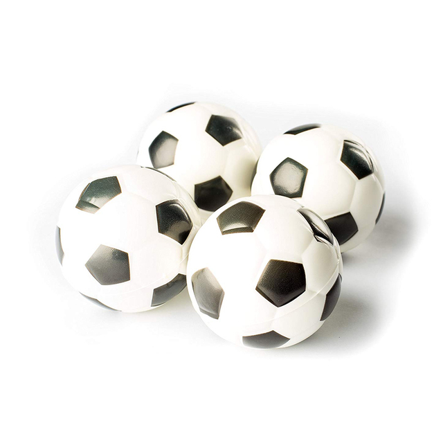 1PCS Football Sports Stress Balls Relaxable 2″ Stress Relief Soccer Squeeze Balls  Squishy Cream Scented Decompression
