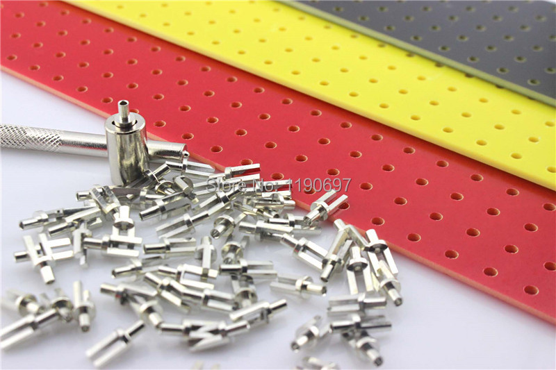 100 pcs Tin Plated Turrets Posts Lugs FOR 2mm Tube Guitar Amp DIY Tag Board