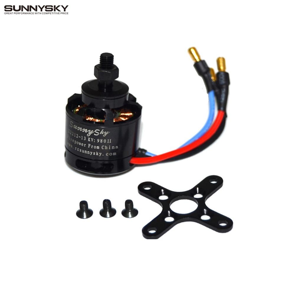 4x Sunnysky X2212 980KV 180W Brushless Motor for Multirotor Quadcopter Hexa Octa