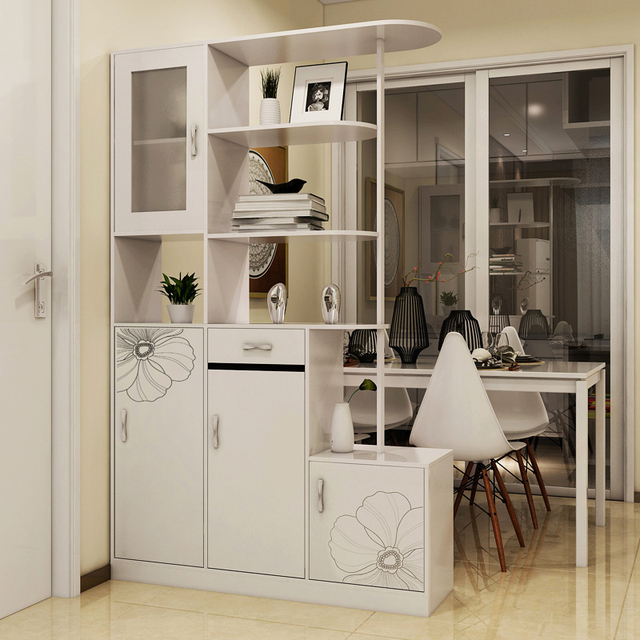 Simple and stylish living room wine cabinet foyer cabinet entrance cabinet modern shoe off paint two & Simple and stylish living room wine cabinet foyer cabinet entrance ...