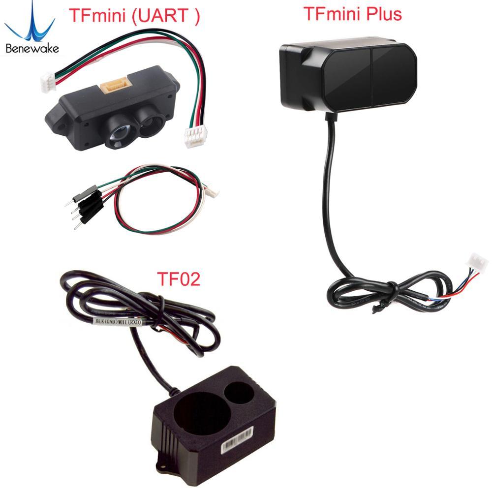 Tfmini/tfmini plus/tf02 lidar range finder sensor módulo de ponto único micro variando para arduino pixhawk fz3000 fz3065