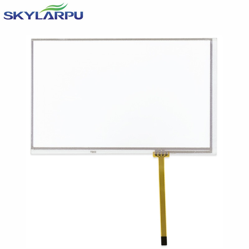 skylarpu New 7 inch 4 wire Resistive Touch Screen Panel 165*104mm touch screen digitizer panel free shipping new 10 1 inch 4 wire resistive touch screen panel for 10inch b101aw03 235 143mm screen touch panel glass free shipping