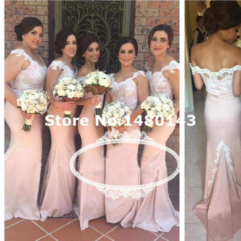Online Buy Wholesale light blush pink bridesmaid dresses from ...