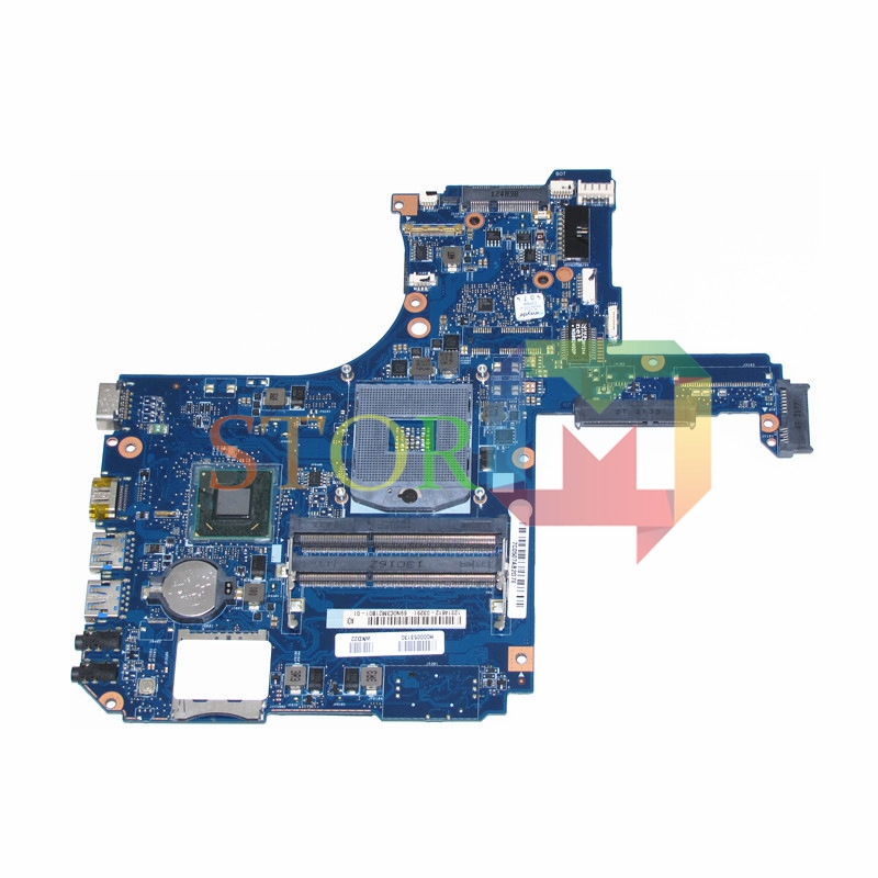NOKOTION for toshiba satellite S55 laptop motherboard H000053130 HM77 GMA HD4000 DDR3 h000046310 laptop motherboard for toshiba satellite c875 hm76 gma hd4000 ddr3