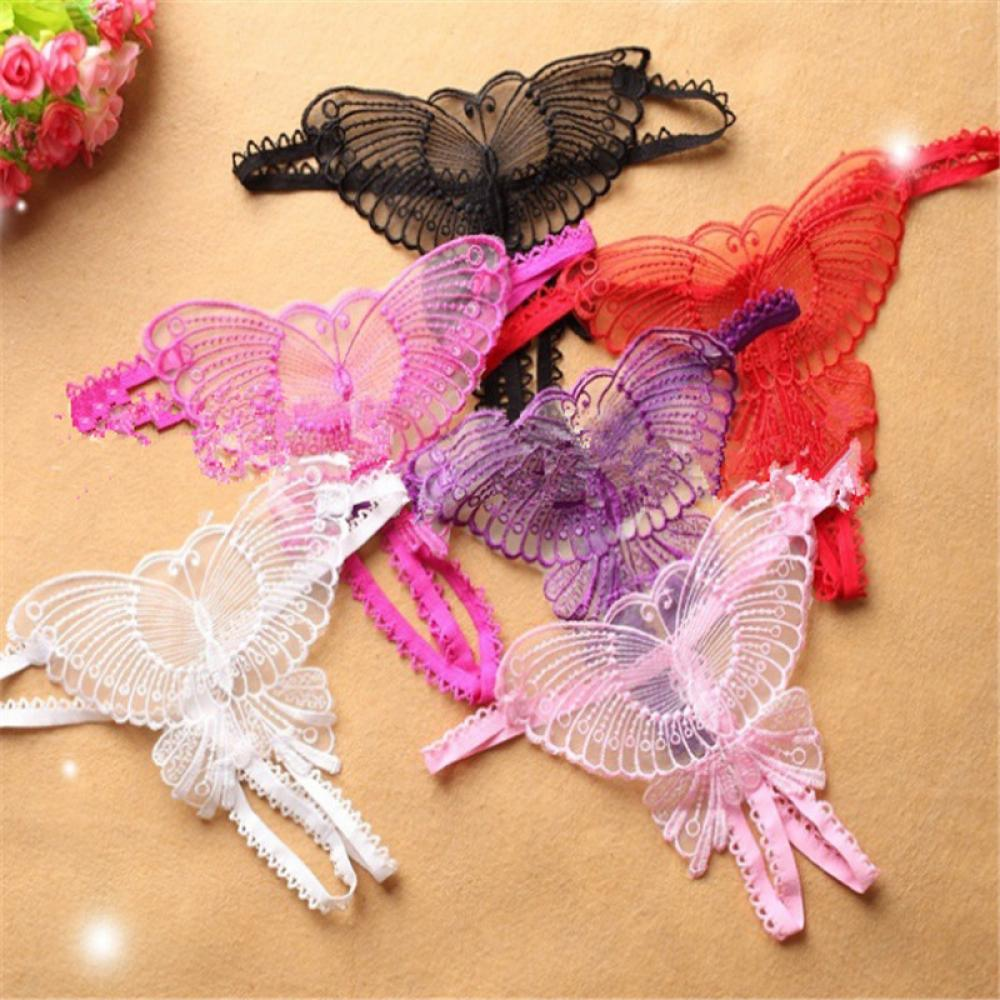 Hot Women butterfly Thongs G-string V-string   Panties   Knickers Lingerie Underwear Lady sexy