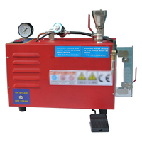 HJ-88 220 V 6 De litros herramientas joyería limpiador de vapor de la máquina de limpieza con un tubo joyeros de potencia 2000 W limpiador de vapor