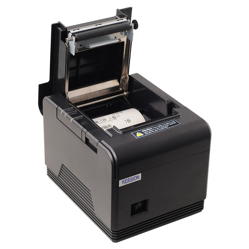 High quality 80mm auto cutter receipt printer POS printer with USB+Serial / Ethernet
