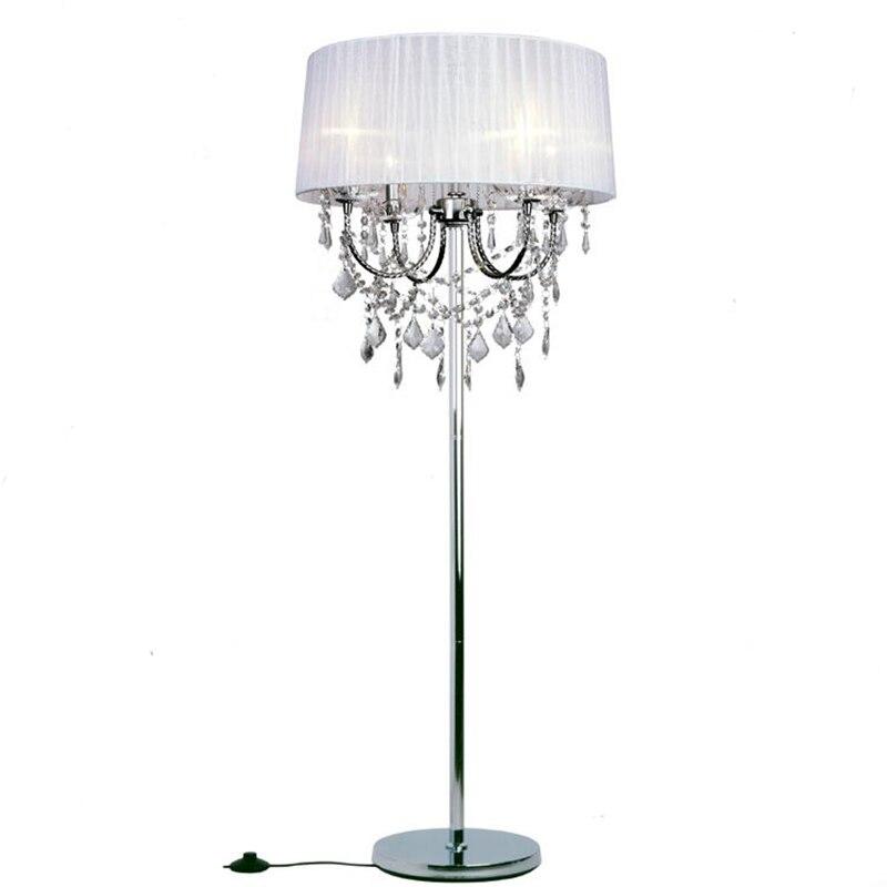 elegant luxury led crystal Floor Lamps lights Indoor Brightness ...