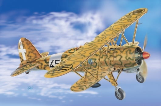 Out of print product! Italeri model 2653 1/48 CR.42 AS FALCO airplane model kit