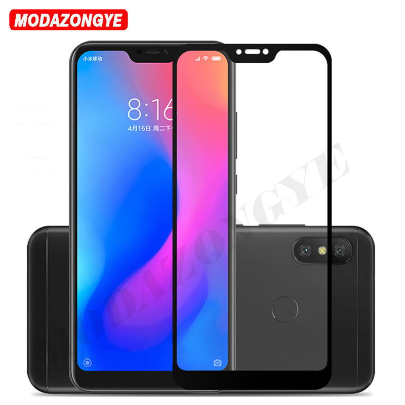 <font><b>Mi</b></font> A2 Lite Screen Protector Full Cover Tempered Glass For <font><b>Xiaomi</b></font> <font><b>Mi</b></font> A2 Lite Global Version MiA2 Lite <font><b>A2Lite</b></font> MiA2Lite Glass <font><b>5.84</b></font> image