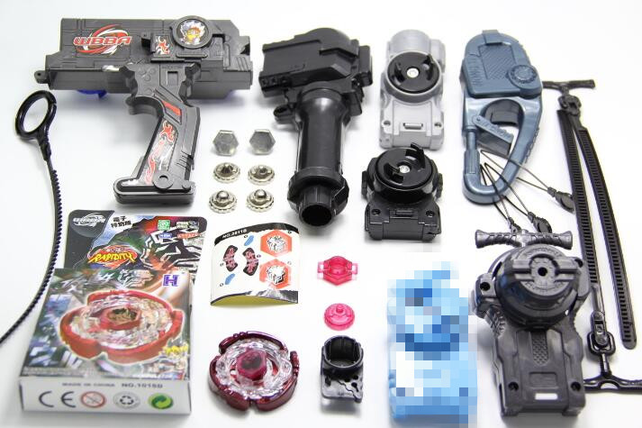 Beyblade Duotron Dual Launcher DS Cyber Pegasus (Pegasis) Beyblade metal masters (Astro Spegasis) w/Launcher