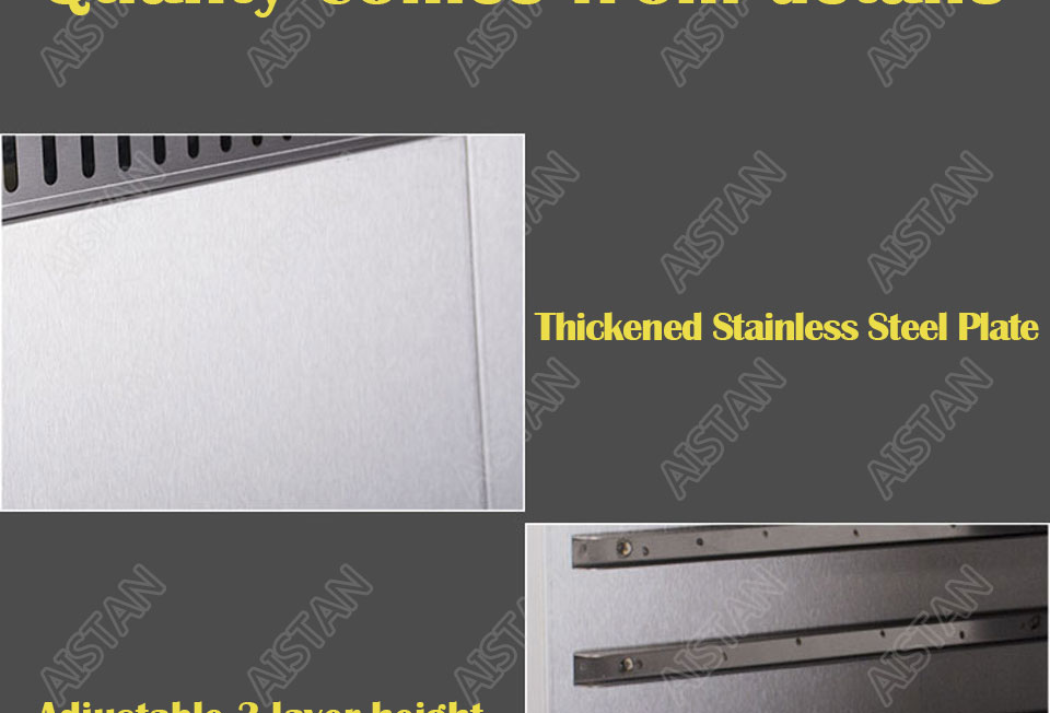 AT936 stainless steel electric hanging salamander for barbecue and kitchen equipment 13