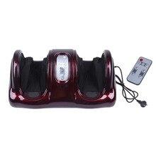 Pro Электрический антистресс терапевтические ролики Шиацу Разминание ноги руки массажер вибратор массаж ног машина уход за ногами устройство