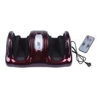 Pro Electric Antistress Trị Liệu Con Lăn Shiatsu Nhào Chân Legs Arms Massager Vibrator Chân Máy Massage Chân Thiết Bị Chăm Sóc