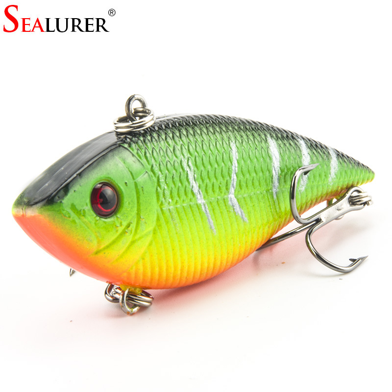 Lifelike Fishing VIB Lure 7CM 10.5G Fishing Wobbler Crankbait 5 Colors Available Artificial Japan Hard Bait Swimbait sealurer 1pcs vib fishing lure 7cm 10 5g pesca wobbler crankbait artificial japan floating hard bait tackle 5 colors available