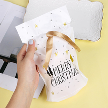 1/5 шт. Рождественский подарок сумка мешочек для печенья, конфет в виде снежинок плотная сумка мыло ручной работы сумка-кисет для веселого Рождества Подарки на год