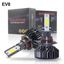 1500W 225000LM комплект автомобильных светодиодных фар H8 H9 H11 H7 H4/9003/HB2 H1 9006 9005/H10 6000K, яркий фонарь, лампа FZH
