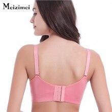 Meizimei women sexy bra push up seamless wire free underwear brassiere femme bh magic ladies bras crop top max 95 lace bralette