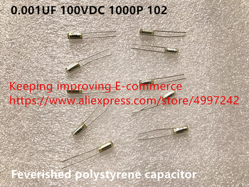 Original new 100% import 0.001UF 100VDC 1000P 102 feverished polystyrene capacitor (Inductor) - discount item  1% OFF Electrical Equipment & Supplies