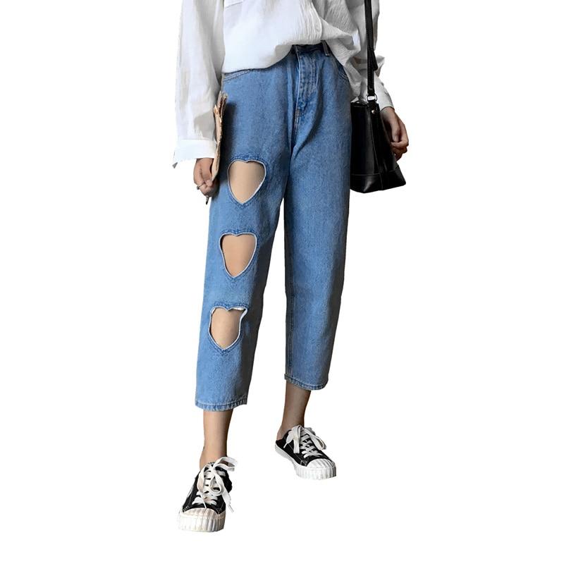06392e7f739 Back Zipper Jeans Women High Waist Straight Denim Wide Leg Pants Basic  Classic Blue Fashion Loose Patchwork Jeans Trousers FemmeUSD 33.00 piece