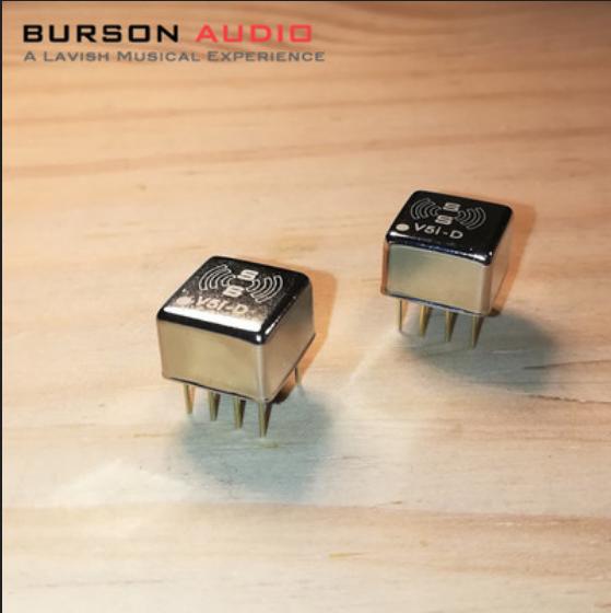 DIYERZONE Burson V5i-S solo amplificador operacional V5i-D doble amplificador operacional avanzada Audio discretos Op L9-40