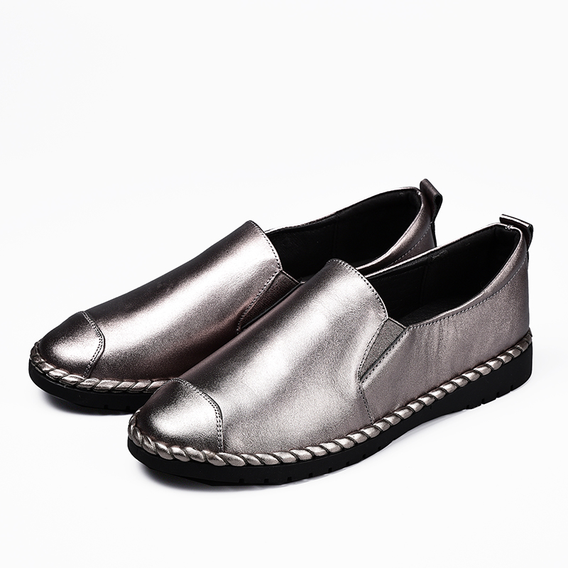 New arrival Women Flat Shoes High Quality Sheepskin shoe Woman Slip On Loafers Women's Fashion Shoes Moccasins Female Footwear