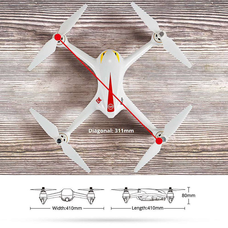 Дрон с Камера MJX ошибки 2C 5.8 ГГц Радиоуправляемый Дрон Quadcopter с 720 P HD Live Камера RTF высота Удержание НЛО летающий Игрушечные лошадки для детей