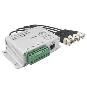Image 5 - ESCAM transmisor pasivo CCTV de 4 canales, Balun de vídeo BNC macho a UTP Rj45 Cat5 4 CH UTP Balun de vídeo, transmisión para sistema de videovigilancia
