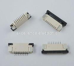50 sztuk FPC 1mm 8 Pin typ szuflady wstążka płaskie złącze Top skontaktuj się z do ekranu LCD interfejs z MP3/DVD/telefon w Złącza od Lampy i oświetlenie na