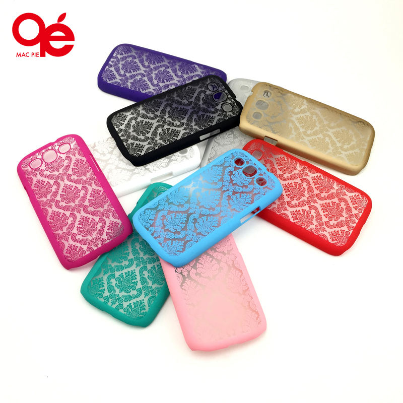 Luxury Damask Vintage Flower Pattern Ultra Slim Phone Back Protect Case Cover Shell for Samsung Galaxy S3 S4 S5 S6 Case Cover