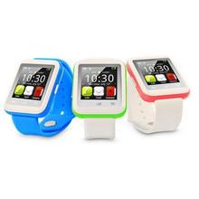 U9 bluetooth smart watch mtk6261 lcd display smartwatch unterstützung sim-karte reloj inteligente für android ios pk u8 dz09 gt08