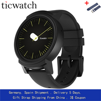 GiftStrap Ticwatch E Expres Smart Watch Android Wear OS MT2601 Dual Core IP67 Waterproof Bluetooth 4.1 WIFI GPS Smartwatch Phone