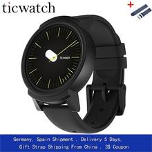 GiftStrap Ticwatch E Expres Смарт-часы Android Wear OS MT2601 двухъядерный IP67 Водонепроницаемый Bluetooth 4,1 WI-FI gps Smartwatch телефон