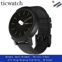 Giftstrap Ticwatch E Expres Смарт часы для Android OS MT2601 двухъядерный IP67 Водонепроницаемый Bluetooth 4,1 WI FI gps Смарт часы телефон