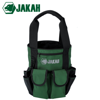JAKAH Electric Bucket Tool Bag Portable Toolkit  Home Garden Hardware Tool Organizer Bags