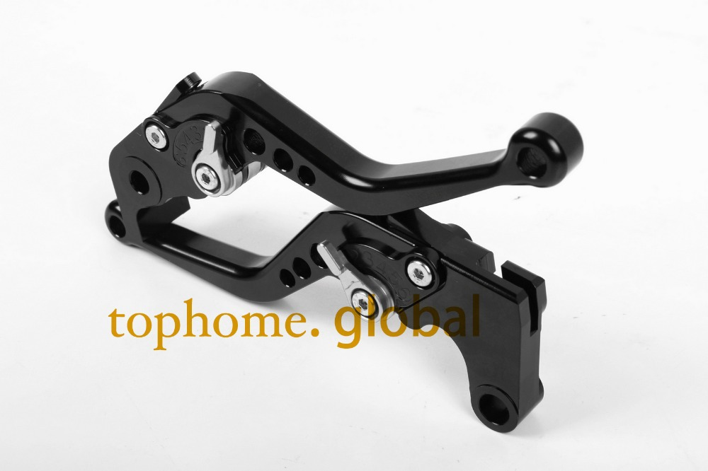 Motorcycle Accessories For BMW K1200R SPORT 2006-2008 2007 Short Black Handlebar CNC Clutch Brake Lever Brake Lug grips aftermarket free shipping motorcycle parts eliminator tidy tail for 2006 2007 2008 fz6 fazer 2007 2008b lack