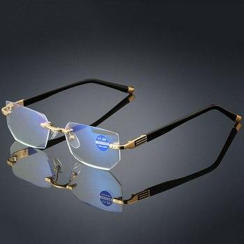 7c0322a758 Gafas de lectura transparentes de Meeshow hombre gafas de ojo Retro estilo  francés mujer leesbril con diopter 0,0 + 1,0 + 1,75 + 2,0 + 4,0 de 1513