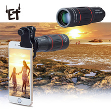 18X25 Mobile Phone Telephoto Lens for IPhone Samsung Xiaomi Smartphones Clip Tel