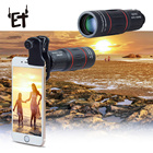 18X25 Mobile Phone Telephoto Lens for IPhone Samsung Xiaomi Smartphones Clip Telefon 18X Telescope Zoom Cell Phone Camera Lens
