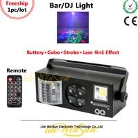 Litewinsune Freeship מיני LED בר DJ תאורת פלאש Strobe תאורת לייזר אפקט תאורת DMX שלט רחוק
