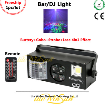 Litewinsune Freeship Mini LED Bar DJ Lighting Flash Strobe Lighting Laser Effect Lighting DMX Remote Control