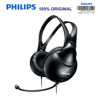Philips SHM1900 Earphones with Microphone Game Headset Support Music & Movie & Game Earphone for Music Phone