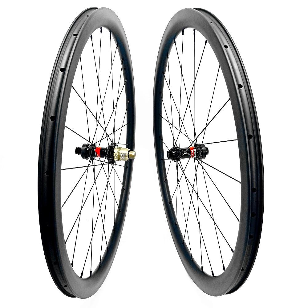 road disc wheel 44x28mm tubeless 700c Disc Brake road bike wheels NOVATEC 100x12mm 142x12mm NOVTAEC disc