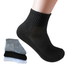 2017 HOT SALE Fashion bamboo fiber Male socks Sporting socks Brand Casual dress men s sock