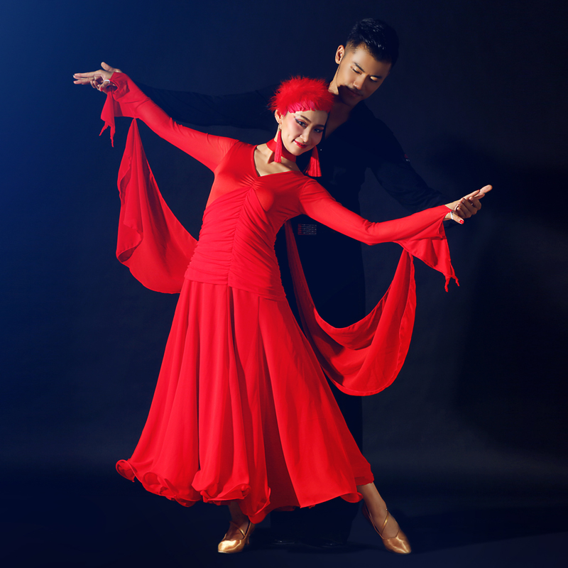 2017 Real Latin Dress Dress Ballroom Dance Skirts Newest