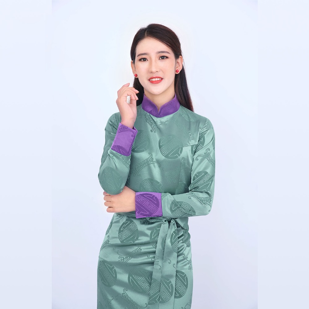 China Ethnic Minority Garment Tibetan Women 39 s Clothing High Quality Thick Silk Materials Nepal Tibet Gown Robe Elegent Lady in Asia amp Pacific Islands Clothing from Novelty amp Special Use