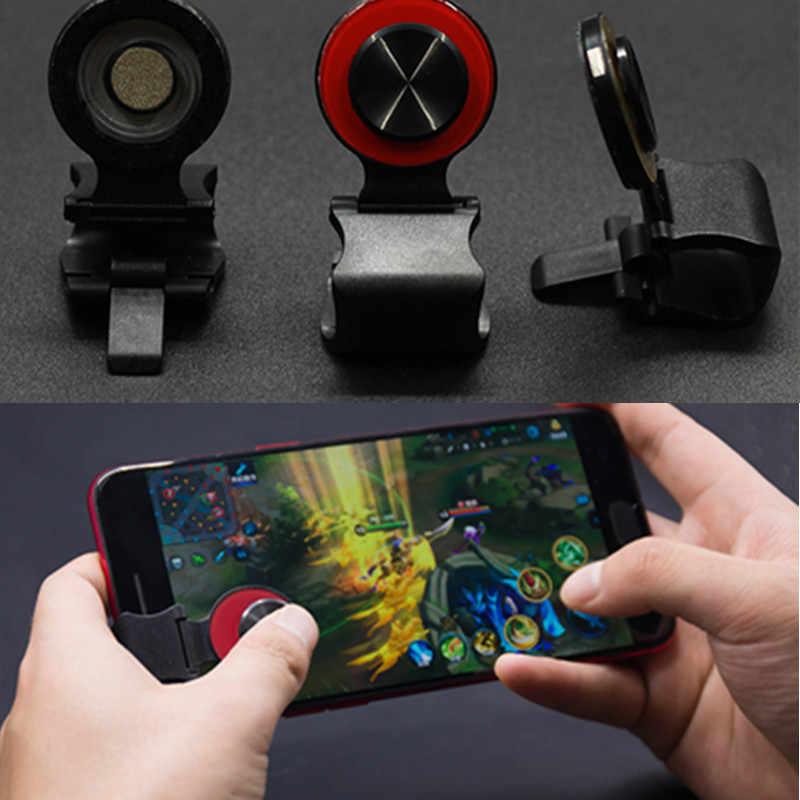 Новейший аркадный джойстик мини сенсорный экран джойстик для смартфона универсальный зажим джойстик для мобильного телефона/Ipad/планшета