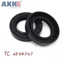 axk 20x45x7 mm 36x46x7 mm tc oil shaft simmer ring rotary shaft seal nitrile seals buna n basl rubber gasket 10pcs AXK  25x47x7 TC25x47x7 NBR Skeleton Oil Seal 25*47*7 Seals AXK  high-quality Seals Radial shaft seals Nitrile rubber