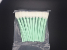 50pc best quality print head cleaning stick 13CM factory cleaning swab for printhead